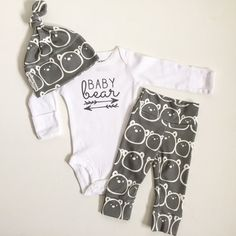 Pre-order  Baby Bear  baby boy take home by PaisleyPrintsSpokane