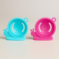 One of my favorite discoveries at WorldMarket.com: Escargot Silicone Egg Separators, Set of 2