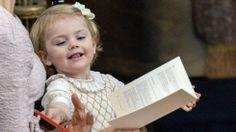 Veikeä Estelle jälleen vauhdissa - Prinsessa Leonoren ristiäiset