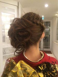 【2016年冬トレンド】成人式 ヘアセット メイク 着付け/KIMONO浪漫のヘアスタイル Up Styles, Hair Styles, Hair Arrange, Wedding Hairstyles, Salons, Kimono, Beauty, Fashion, Hair Style