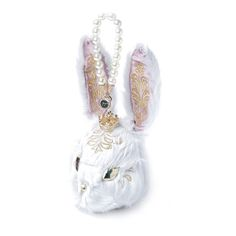 Bunny Baroque Carry Bag with Chain | Online store by 77TH