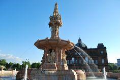 Terracota Fountain Glasgow Glasgow Uk, Statue Of Liberty, Fountain, Travel, Statue Of Liberty Facts, Viajes, Statue Of Libery, Water Fountains, Destinations