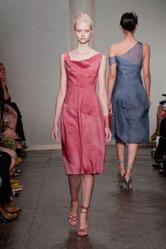 Donna Karan Spring 2013 | Runway | POPSUGAR Fashion