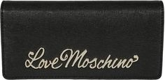 Love Moschino Moschino Logo Plaque Continental Wallet