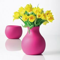 Fun! Rubber Vase by