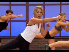 10 minute full body work out. Jab the flab and chisel a rock-hard body with these explosive cardio kickboxing moves, aerobics, ab-blasting twists and more! For full selection of great workouts like… Great Ab Workouts, Fit Board Workouts, Kickboxing Moves, Youtube Workout, Fat Burning Workout, Workout Videos, Workout Exercises, Get In Shape, Excercise
