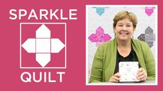 Make the Sparkle Quilt with Jenny Doan! (You have to cut sooo many small little squares for this one!)
