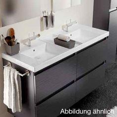 Doppel aufsatzwaschbecken mit unterschrank  Doppelwaschtisch Badezimmermöbel 1600mm | Doppelwaschtisch mit ...