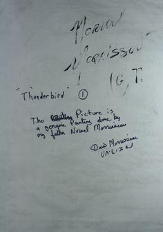 INV1066back  48 x 35Thunderbird #1 1977