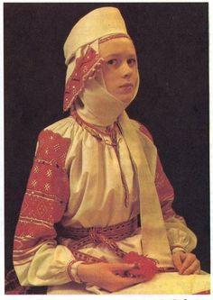 Annette's Belorussian Costume