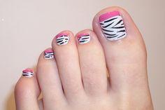 Nail Designs Of 2015 Fresh toe Nail Designs 2015 Yve Style Simple Toe Nails, Cute Gel Nails, Summer Toe Nails, Cute Nail Art, Pink Nails, Classy Nails, White Nails, Nail Designs 2015, Pedicure Designs