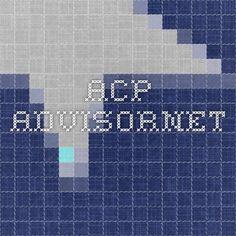 ACP AdvisorNet  (www.acp-advisornet.org)