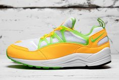 "Nike Air Huarache Light ""Atomic Mango & Action Green"" - EU Kicks: Sneaker Magazine"
