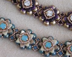 Beaded Bracelet Tutorial Pattern Instructions от poetryinbeads