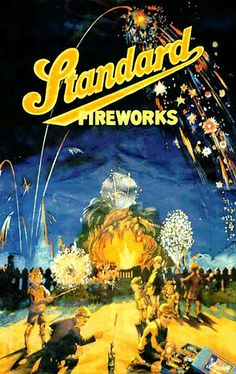 If It's Hip, It's Here (Archives): 30 of the Hippest Vintage Fireworks Posters, Packaging and Labels for The Fourth of July. Vintage Advertisements, Vintage Ads, Vintage Posters, Bonfire Night Guy Fawkes, Festivals In England, Standard Fireworks, Vintage Fireworks, Childhood Days, 1970s Childhood