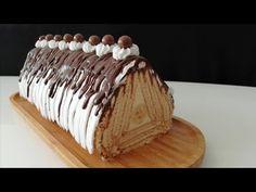 KREMA PİŞİRMEK YOK!! /EN PRATİK EN LEZZETLİ PRAMİT PASTA BU 💯👌 - YouTube Easy Cake Recipes, Candy Recipes, Dessert Recipes, Desserts, Biscuit Cake, Turkish Recipes, Biscotti, Yummy Food, Make It Yourself