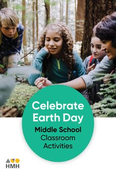 At HMH The Learning Company, we believe It's important that minds of all ages honor Earth Day. Here's a list of activities that teachers and educators can incorporate in their middle school classrooms. Earth Day Activities, List Of Activities, Science Resources, Learning Resources, Classroom Activities, Classroom Ideas, Middle School Classroom, High School Students