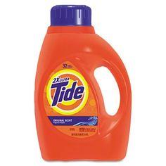 Tide 13878ct Ultra Liquid Tide Laundry Detergent 50 Oz Bottle 6