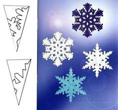 бумажные снежинки своими руками - Поиск в Google