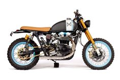 Maria Motorcycles' colorful Bonneville
