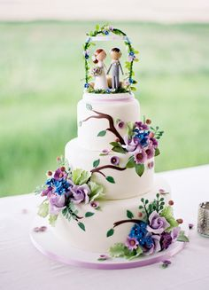 Stupenda, vero?  #wedding #cake #matrimonio #torta