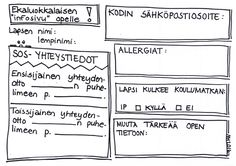 Ekaluokkalaisen infosivu opelle. Coach Quotes, Sheet Music, Coaching, Self, Classroom, Activities, Koti, Love, Training