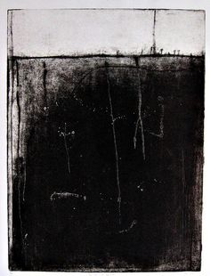 """The Soft Earth Beneath (Etching,aquatint  25x36"""") / by betheljohn"""