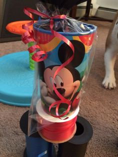 Mickey Mouse Party Favor by RowdyBoysDesigns on Etsy