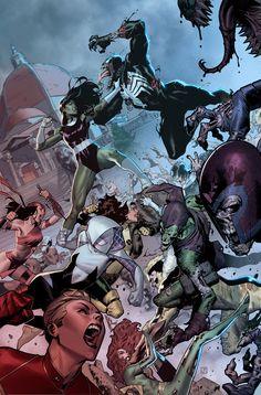 A-Force #5 Director Cut by ZurdoM.deviantart.com on @DeviantArt