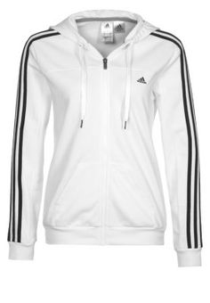 all white adidas tracksuit