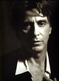 Al Pacino. Let the continue to disrespect me.  See if I care.  But you all will when I get through with you all.
