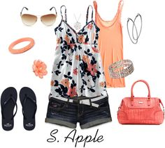 """Flowers"" by sapple324 on Polyvore"