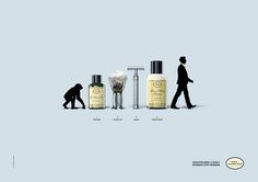 Evolution needs a gentle reminder every morning. Advertising Agency: BBDO New York, USA Chief Creative Officers: David Lubars, Greg Hahn Senior C Creative Advertising, Print Advertising, Advertising Campaign, Marketing And Advertising, The Art Of Shaving, Ad Of The World, Funny Ads, Great Ads, Guerilla Marketing