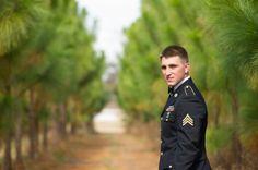Military Rustic Wedding