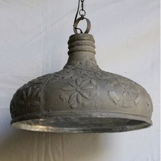 Embossed Pendant Lamp