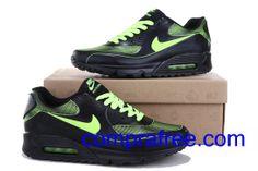 timeless design 359d1 e19a0 Comprar barato hombre Nike Air Max Zapatillas  (color negro,verdefluorescente) en linea en Espana.