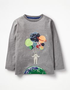 0f0c976a0 Boden Glow-in-the-dark Space T-shirt Balloon Glow, T