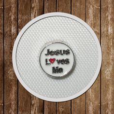 4 Jesus Loves Me Floating Charms memory locket  by GCFindings