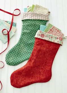 Easy Christmas Stocking | How to Sew