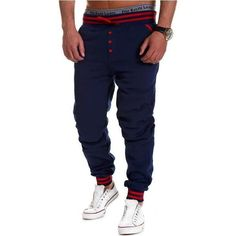 Joggers w/Buttons (7 colors)