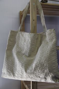 Simplicity is beauty. You will be in love with this simple but high quality bag that is handmade with love!