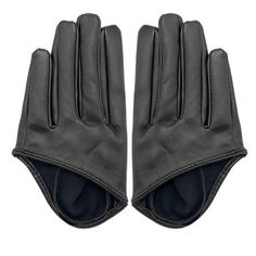 Yoins Yoins Half Palm Gloves (300 RUB) ❤ liked on Polyvore featuring accessories, gloves, yoins, black, gloves & mittens, party gloves, leather mittens, synthetic leather gloves, palm gloves and black gloves