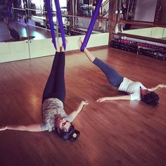We love Aerial Yoga! Don't miss our Aerial Yoga Play teacher training coming up in February! Registration is now open! #aerial #aerialyoga #yoga #yogamaui #betterupsidedown #thepoleroommaui