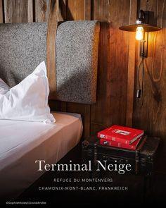 die schönsten Hotels in den Alpen: TERMINAL NEIGE - Refuge de Montenvers, Chamonix Mont Blanc - Frankreich