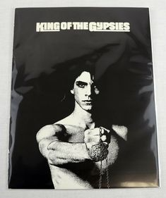 """King Of The Gypsies 1978 Movie Credits Sheet 8.5""""x11"""" 2 Side EX Rare Shields OOP Music Magazines, Gypsy, Cinema, King, History, Movie Posters, Ebay, Fictional Characters, Art"""