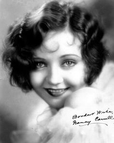 This doll-faced beauty Nancy Carroll is the definition of classic beauty, with her smoldering eyes and her flawless skin she radiates beauty. And I absolutely love her hair, its beautiful, and so inspiring! Pelo Vintage, Moda Vintage, Finger Wave Hair, Finger Waves, Finger Curls, Nancy Carroll, Marcel Waves, Stylish Hair, Flawless Skin