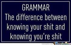 Bookworms will appreciate this grammar joke!