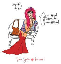 Disguise in Janis Joplin