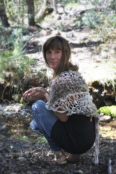 Yospun Knitwear. Made from Handspun Textiles. Crestone Colorado. Designed by Matney Warner