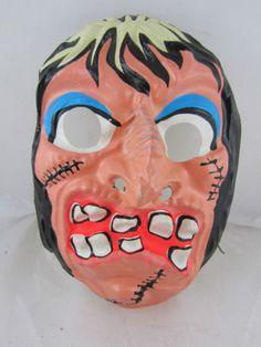 1960s Vintage Collectible Halloween Mask USA Ben Cooper   eBay